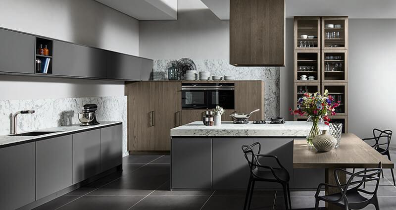 Keukeneiland Teknika keukens Lovendegem