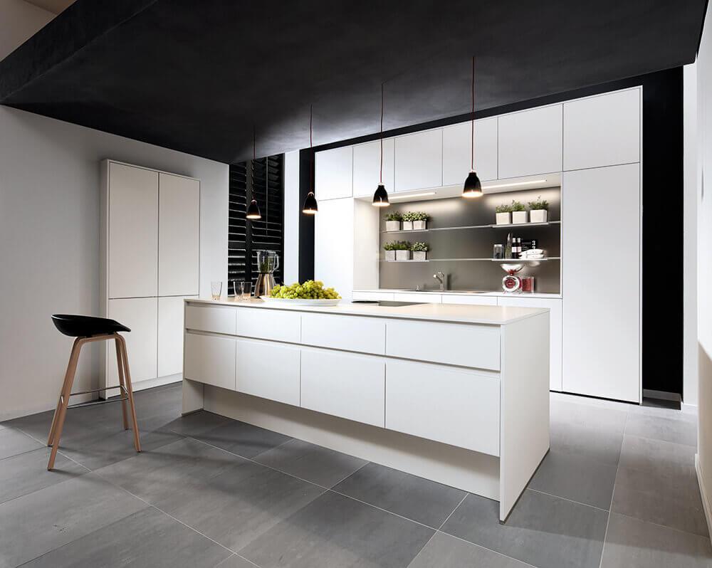 Keuken in het wit